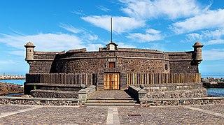 Castle of St John the Baptist Cultural property in Santa Cruz de Tenerife, Spain