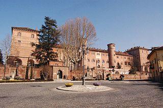 Moncalieri Castle palace in Moncalieri, Italy