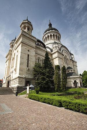 Dormition of the Theotokos Cathedral, Cluj-Napoca - Image: Catedrala Arhiepiscopiei ortodoxe din Cluj Napoca