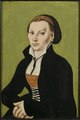 Catharina von Bora, wife of Martin Luther (Lucas Cranach d.ä.) - Nationalmuseum - 22067.tif