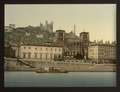 Cathedral and Notre Dame de Fourviere, Lyons, France-LCCN2001698422.tif