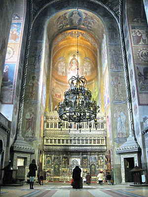 Dormition of the Theotokos Cathedral, Cluj-Napoca - Image: Cathedrale orthodoxe de Cluj