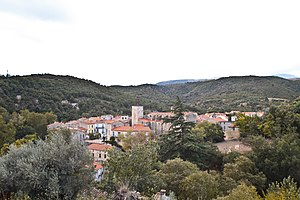 Catllar - A general view of Catllar