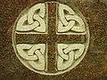 Celtic Carving On Headstone, Linn Cemetery - geograph.org.uk - 726583.jpg