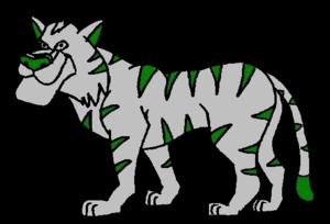 Celtic tiger cartoon