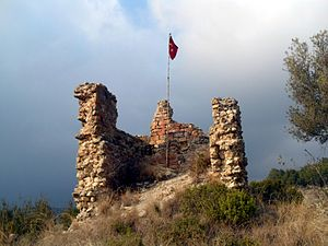 Cemilli Castle - From the south