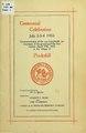 Centennial celebration, July 2, 3, 4, 1916 (IA centennialcelebr00briggs).pdf