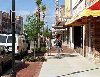 Orangeburg, South Carolina - Central Business District