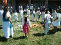 Ceremonia azteca de bienvenida a la primavera en Ayahualulco, Veracruz, México. 21.jpg