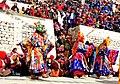 Cham dance during Dosmoche festival in Leh Palace DSCN5689 1.jpg