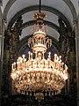 Chandelier, Santiago de Compostela cathedral.jpg