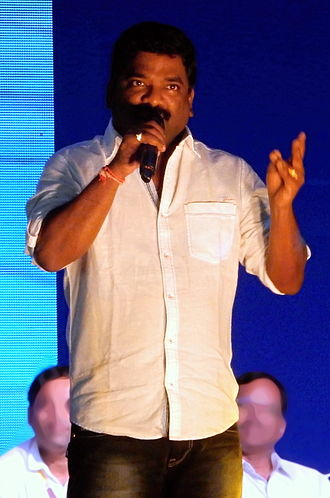 Chandrabose (lyricist) - Image: Chandrabose at KL University in February 2015