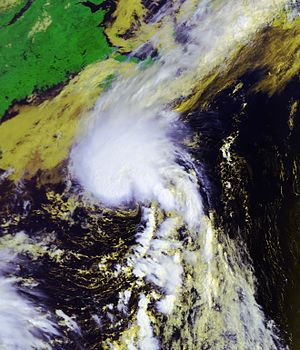 2007 Atlantic hurricane season - Image: Chantal 31 july 2007 1328Z