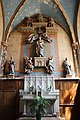 Chaource (10) Église Saint-Jean-Baptiste - Intérieur - Retable de Notre-Dame de Lorette.jpg