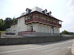Charitte de-Bas (Pyr-Atl, Fr) mairie.JPG