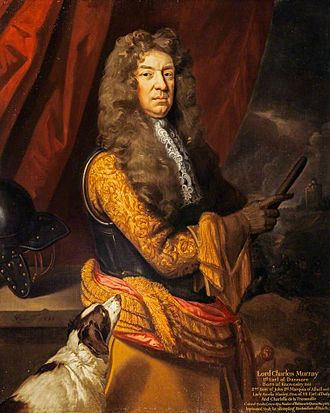 John Murray, 1st Marquess of Atholl - 1st Earl of Dunmore: Charles Murray 1661-1710 portrait 1701 circa.