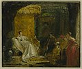 Charles Robert Leslie (1794-1859) - Sketch for 'Sancho Panza in the Apartment of the Duchess' - N01796 - National Gallery.jpg