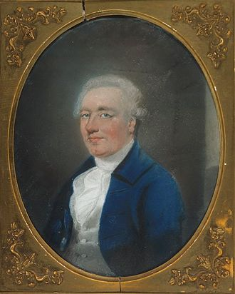Charles Loftus, 1st Marquess of Ely - Charles Tottenham pastel portrait