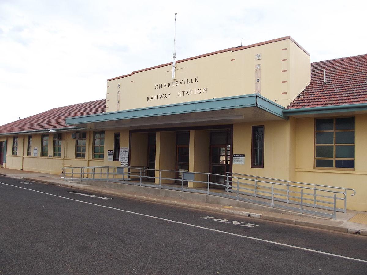 Charleville Railway Station Queensland Wikipedia