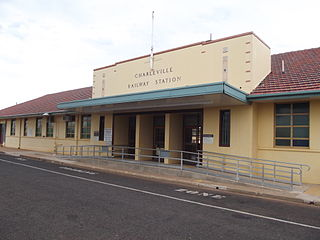 Charleville railway station, Queensland Railway station in Queensland, Australia