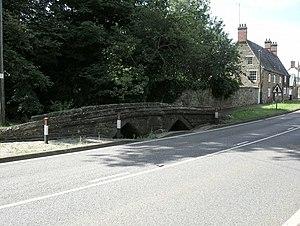 Charwelton - Charwelton's medieval packhorse bridge