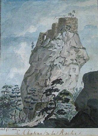 Château de la Roche - Image: Chateau de la Roche Alsace