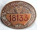 Chauffeur enregistré 1925 Québec.jpg