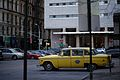 Checker Taxi Cab in front of New York County Family Court.jpg