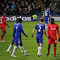 Chelsea 1 lLiverpool 0 (2-1 agg) Capital One Cup semi final 2nd leg On our way to Wembley! (16389030011).jpg