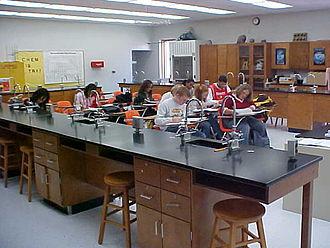 Magna Vista High School (Virginia) - Chemistry Lab