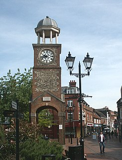 Chesham town in Buckinghamshire, England