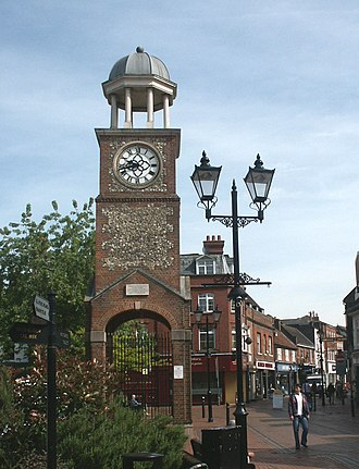 Chesham - Image: Chesham Market Sq Clock