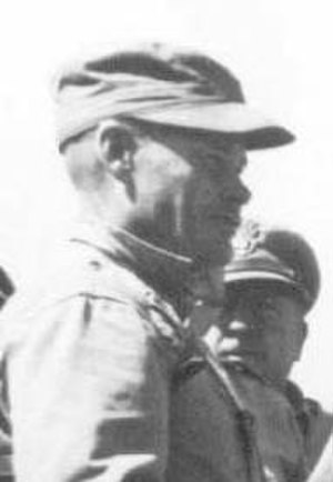 1st Marine Regiment (United States) - Col. Chesty Puller at Inchon leading 1st Marines