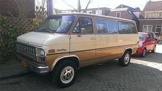 Chevrolet van - 1981 Chevrolet Sportvan Beauville