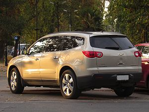Chevrolet Traverse - 2011 Chevrolet Traverse LT (Chile)