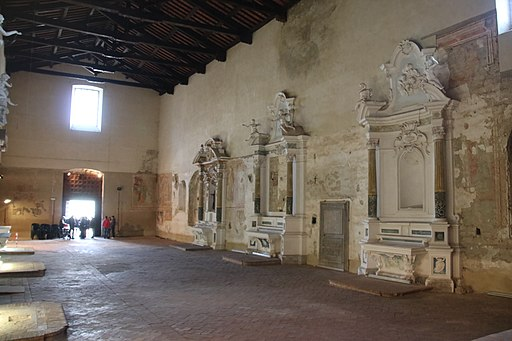 Chiesa di San Francesco (Asciano), interno