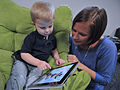 Child and mother with Apple iPad.jpg