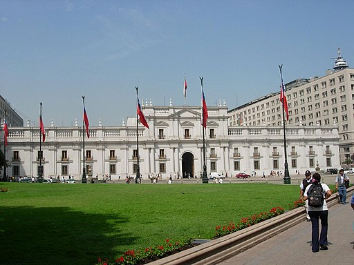 Chile santiago palast