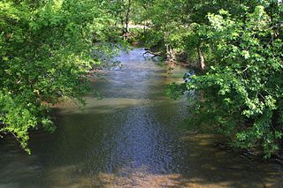 Chillisquaque Creek river in Pennsylvania