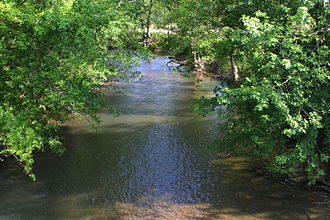 Chillisquaque Creek - Chillisquaque Creek looking downstream above Washingtonville