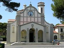 La chiesa di Santa Teresa, patrona di Rosignano