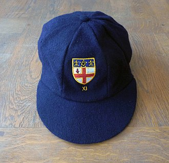 Sporting colours - Pupils who are awarded Colours at Christ's Hospital school, receive a tie, and in the case of sporting colours awarded for cricket, they also receive a cricket cap with the school crest and cricket 'XI' embroidered at the front.