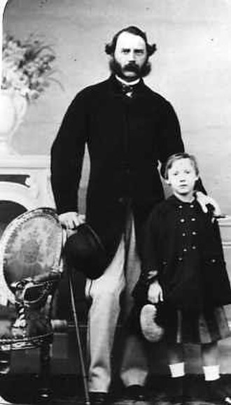 Prince Valdemar of Denmark - Prince Valdemar with his father Christian IX of Denmark