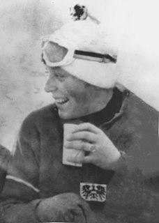 Christl Haas Austrian alpine skier