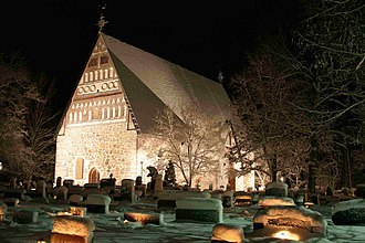 Evangelical Lutheran Church of Finland - The sixteenth-century Hollola church which was converted during the Reformation