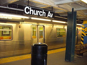 Church Avenue (IND Culver Line) - Image: Church Ave NYC Subway Station by David Shankbone