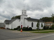 A church in Sodus Point