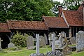 Church of St Andrew's, Boreham, Essex - ambulatory from lychgate to porch.jpg