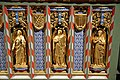 Church of St Andrew, Nuthurst, West Sussex - chancel altar table niches, right.jpg