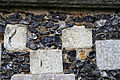 Church of St Mary, Tilty Essex England - chancel wall graffiti 4.jpg